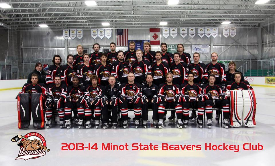 Get Out Play Msu Hockey Word On The Street With Visit Minot