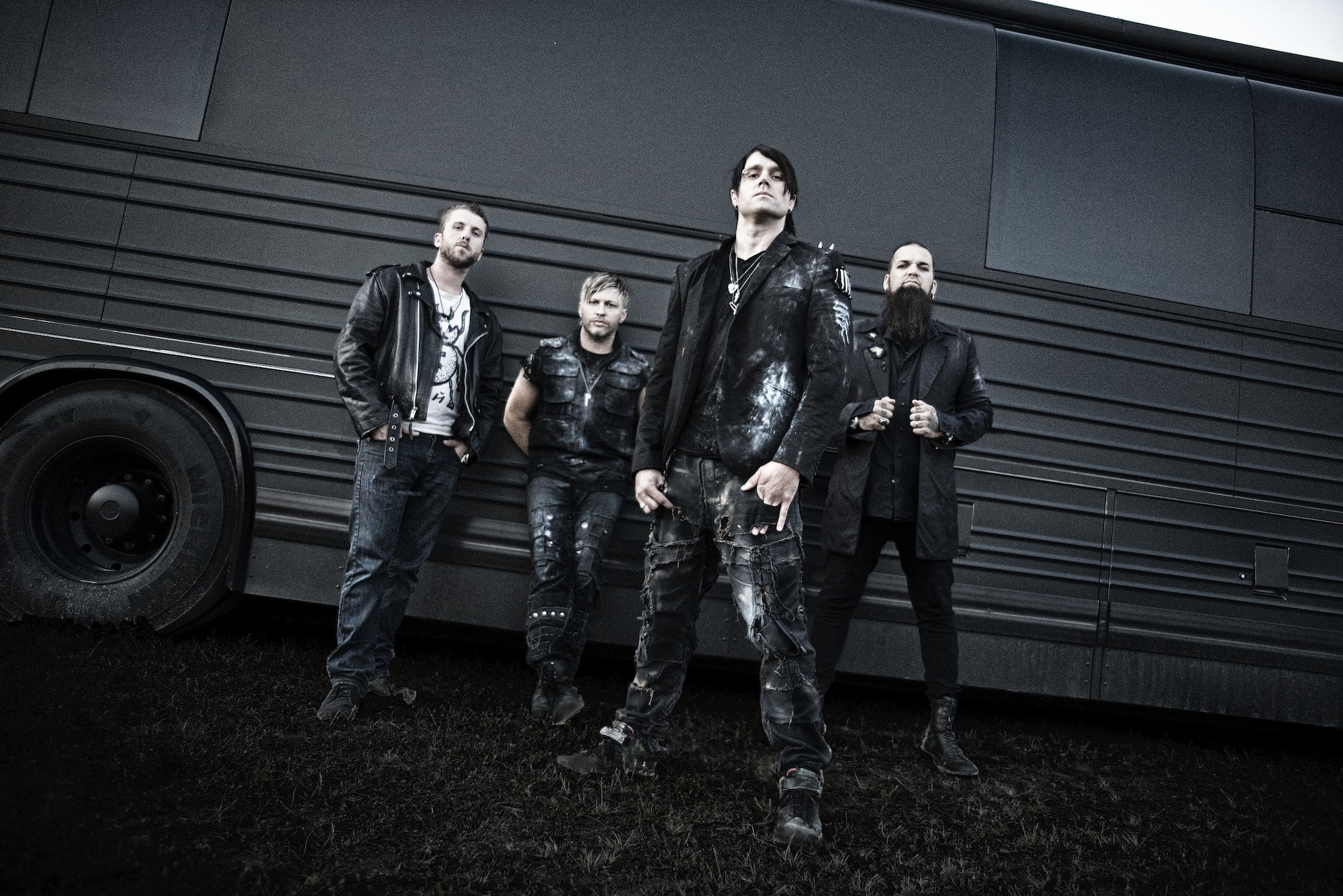 Three Days Grace Hi-Res Promo Photo
