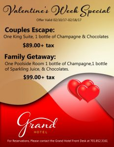 V-Day Guestrooms Special