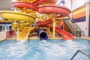 Splash down Splashdown's Super Slides!