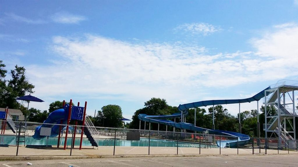 Roosevelt Park Pool is a blast for the whole family.