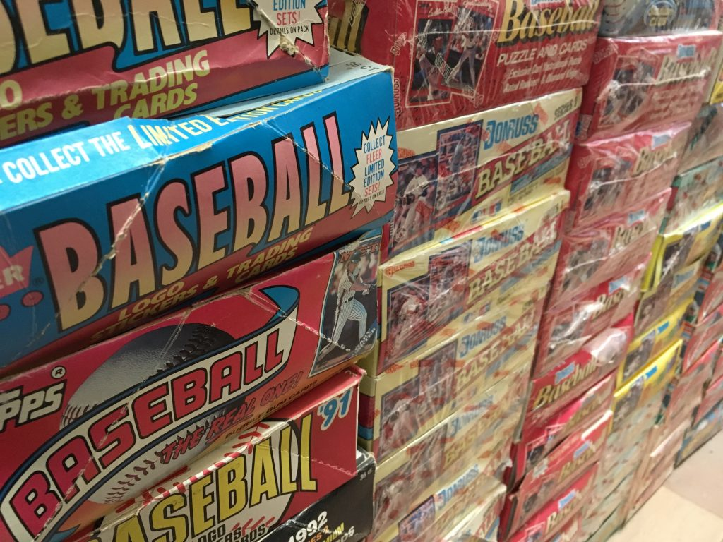 Baseball Cards at Tom's