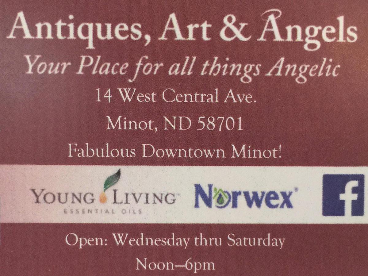 Antiques, Art and Angels