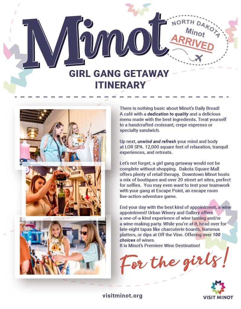 Girl Gang Itinerary