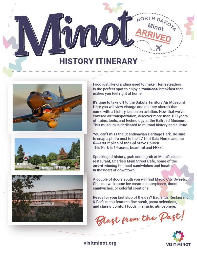 History Itinerary
