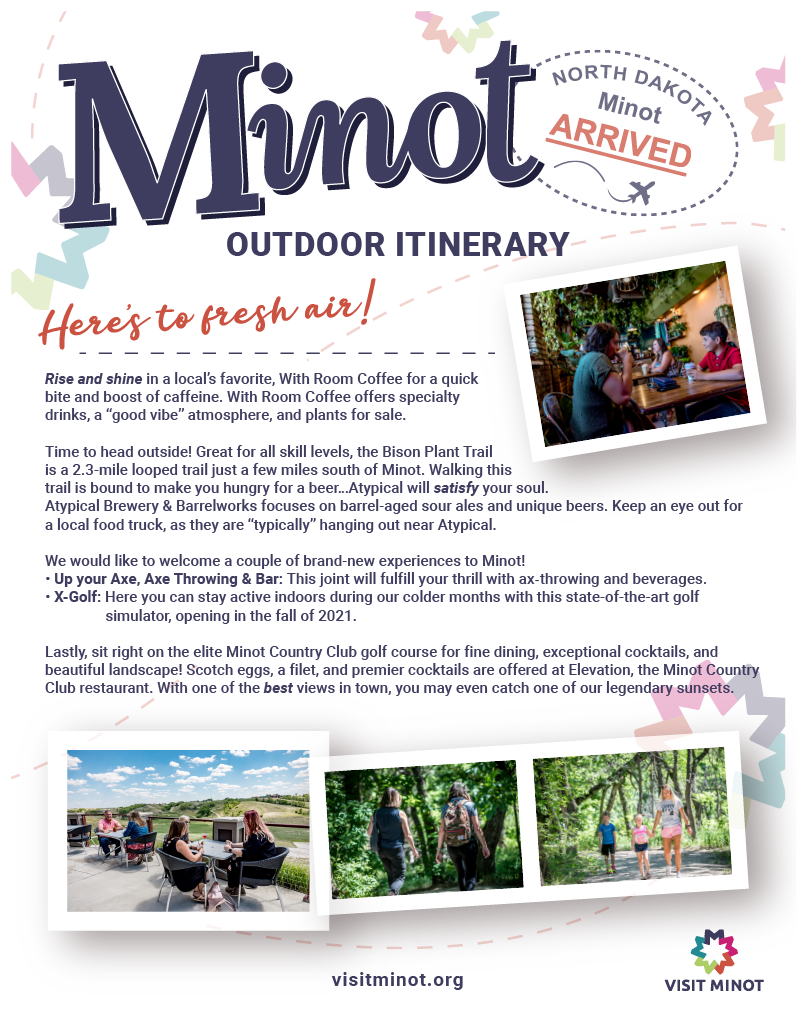 Outdoor Itinerary